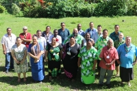 PRISMSS Participants in Samoa from around Pacific region