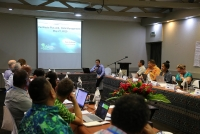 Data strategy session at PacWaste Plus meeting