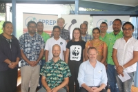 WWF and SPREP MOU Group photo