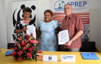 WWF and SPREP sign agreement in Fiji