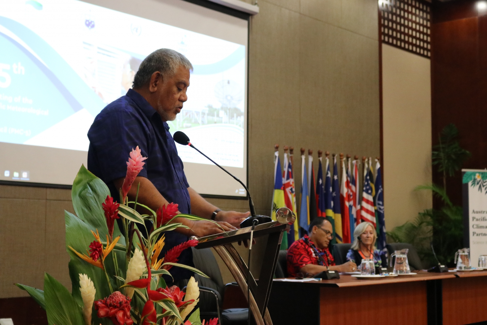 Government Samoa welcoming address