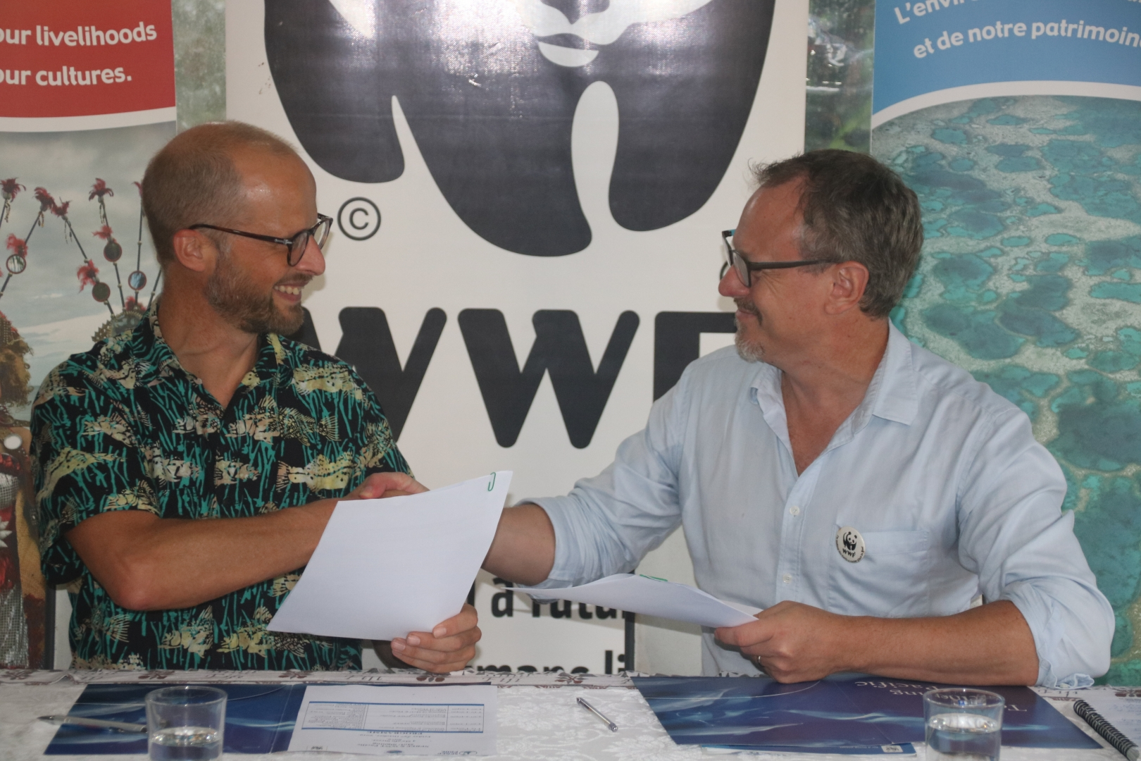 WFF and SPREP MOU signing