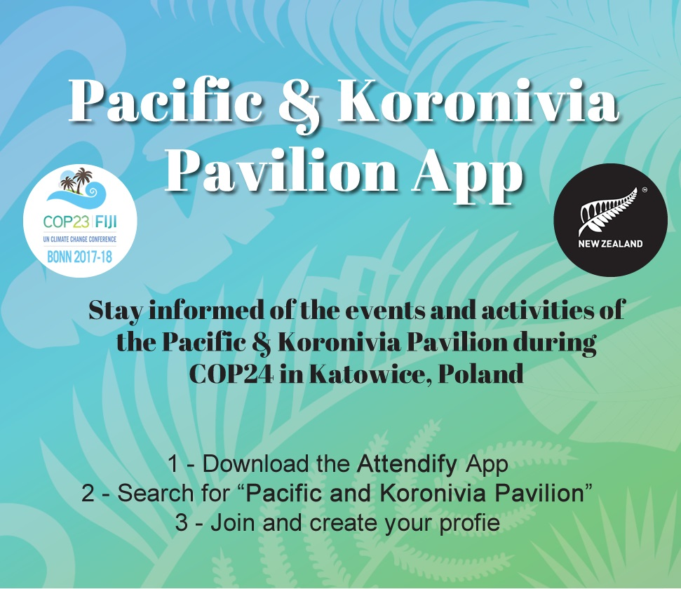 Steps to download Pacific & Koronivia Pavilion App